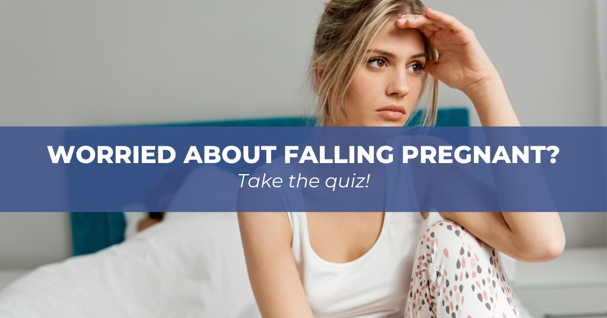 Worried about falling pregnant?